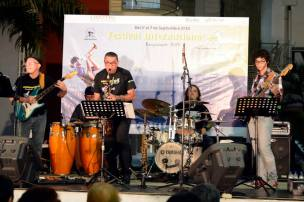 Tocando con Borburata Jazz en el Festival Internacional de Jazz Barquisimeto 2014