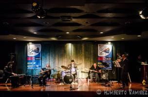 Tocando con UC Jazz en Valencia, Venezuela (2014)